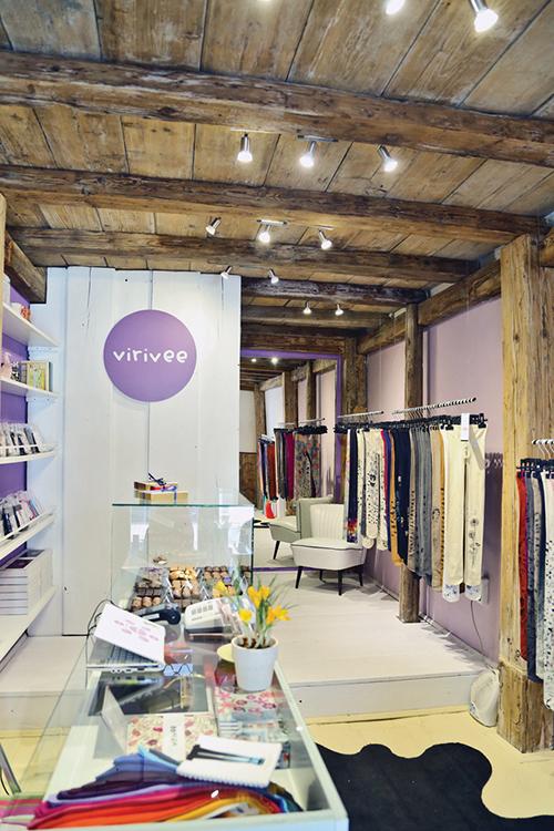 Virivee store in Budapest Hungary