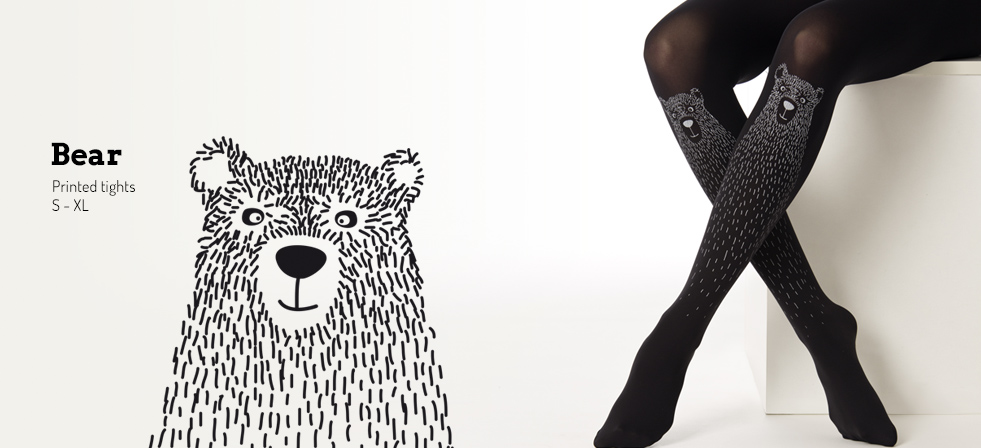 Bear tights by Virivee