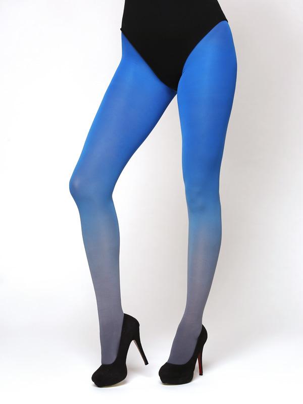 Szürke-kék Színátmenetes Harisnya