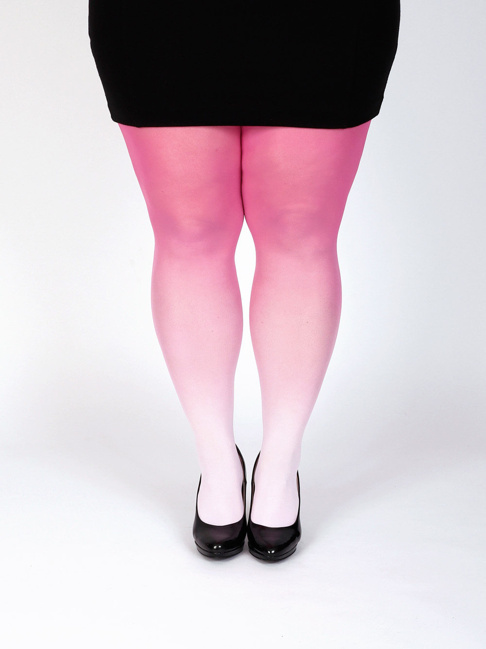 Plus Size Pink Harisnya